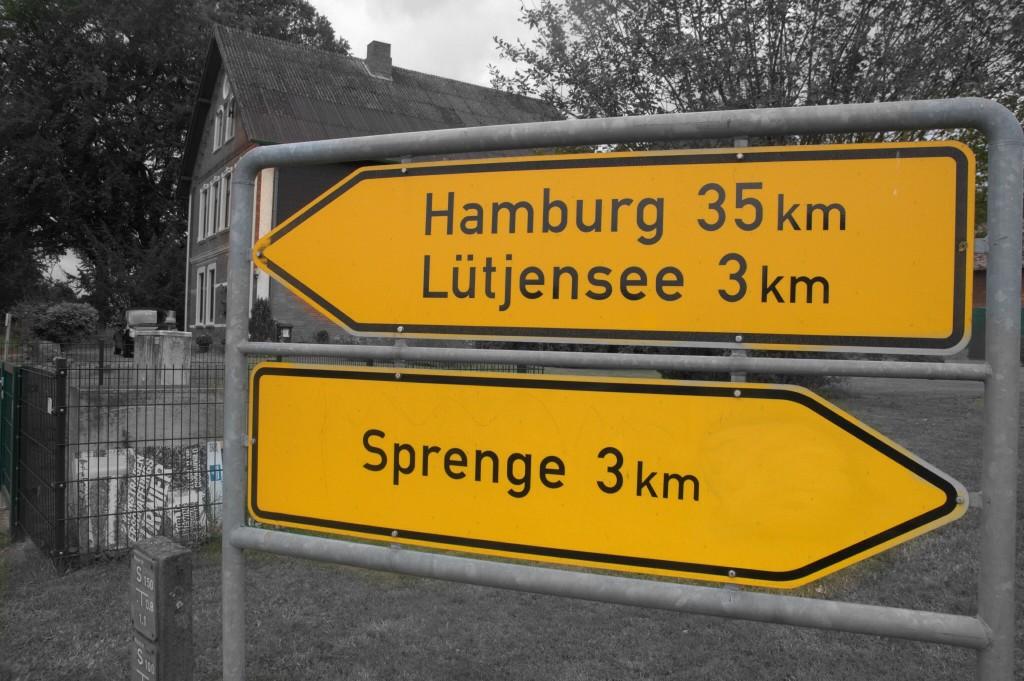 Kylttejä Hampuriin