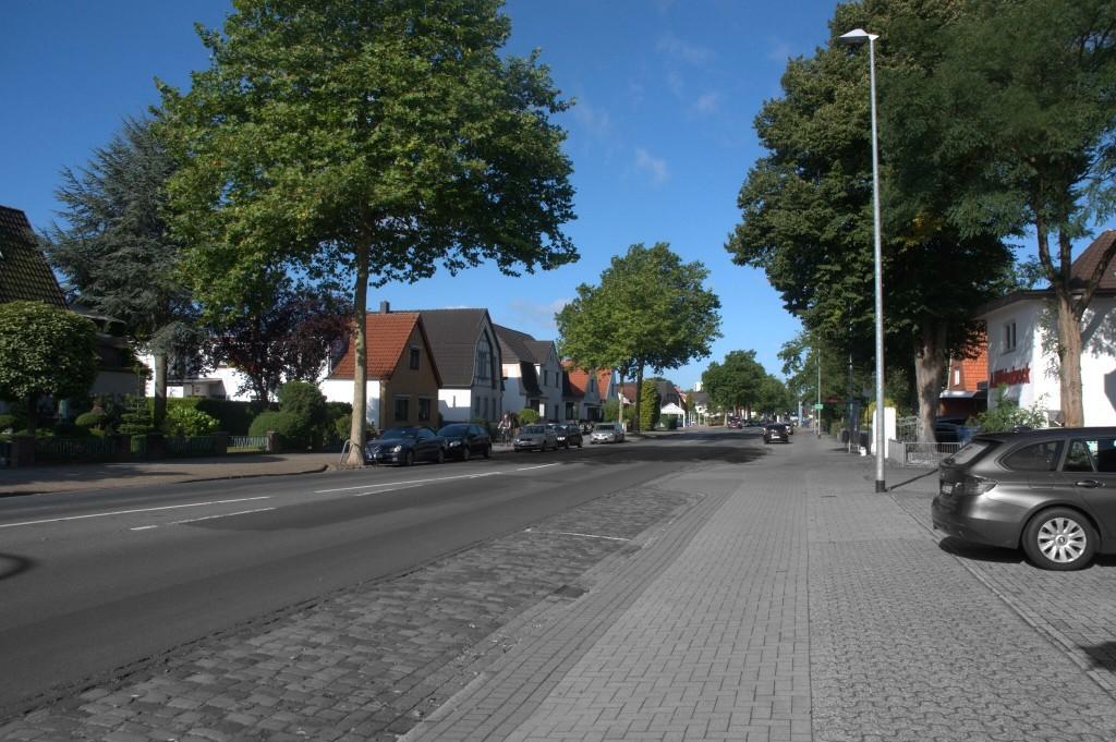 Saksalaista pikkukaupunkinäkymää