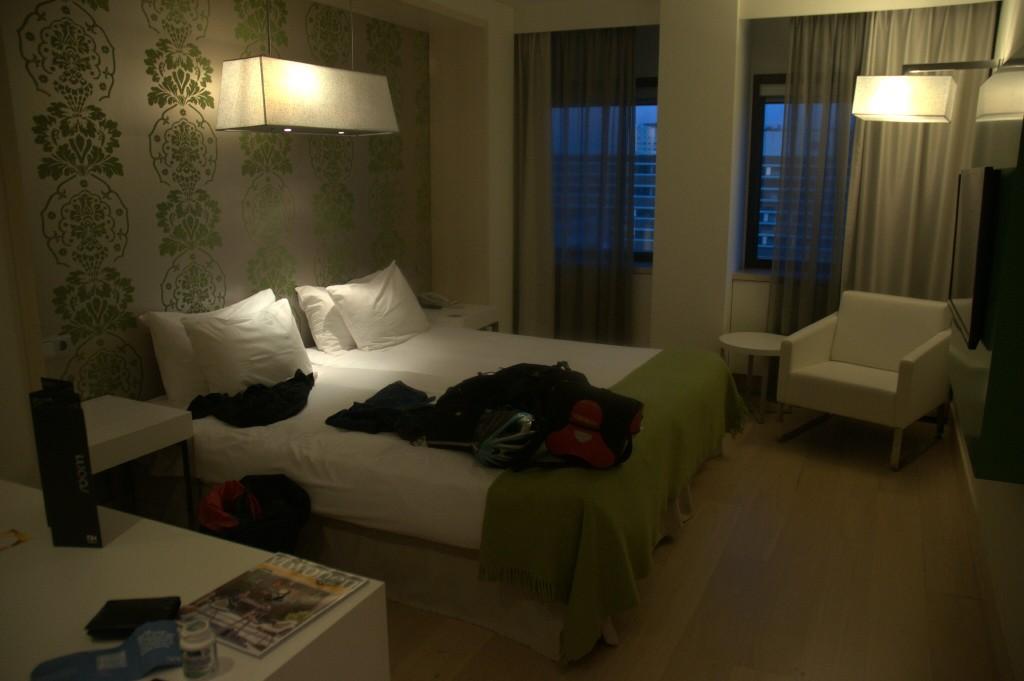 Unipaikka perillä Amsterdamissa