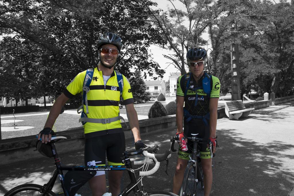 Pyöräilijöitä Hollannista