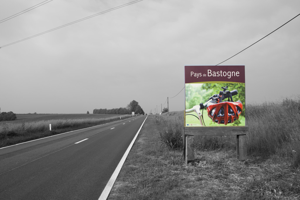 Bastogne tienvarsimainos
