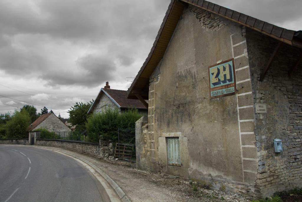 Pikkukylä Ranskassa.